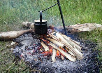 Feuerstelle im Boden eingelassen selber bauen (Anleitung)