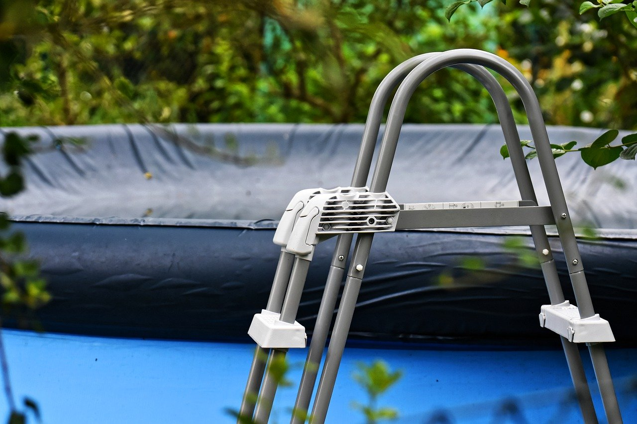 Garten Pool Schutzhülle Plane Leiter Zubehör