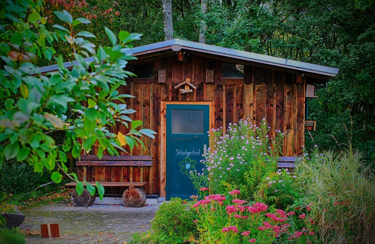 Gartenhaus Garten Hütte Schuppen