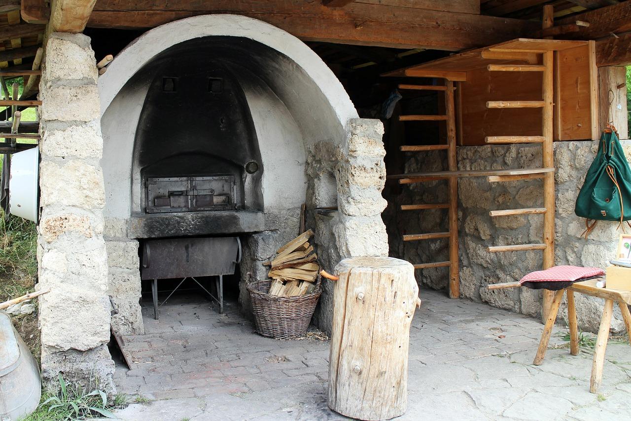 Ofen Steinofen Pizzaofen Gartengrill