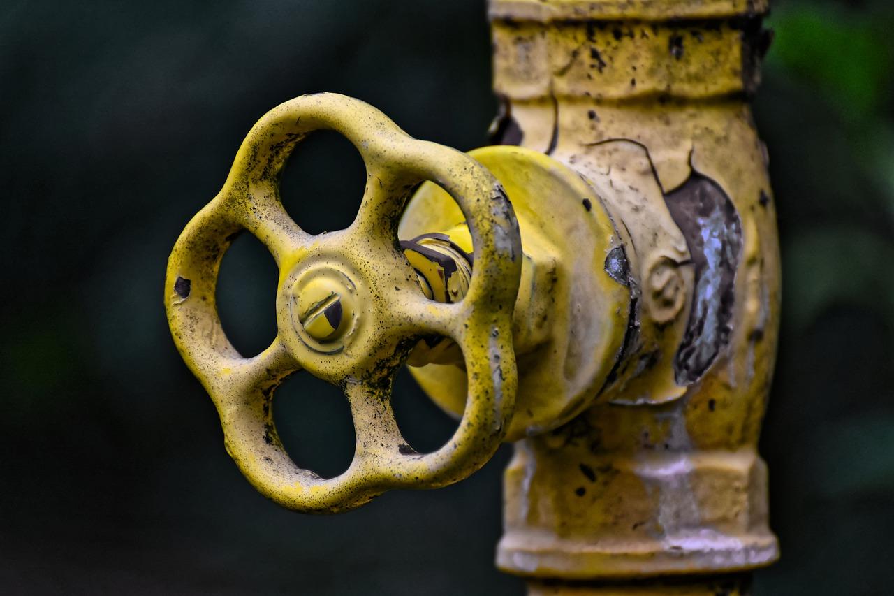 Wasserleitung Rohr Armatur