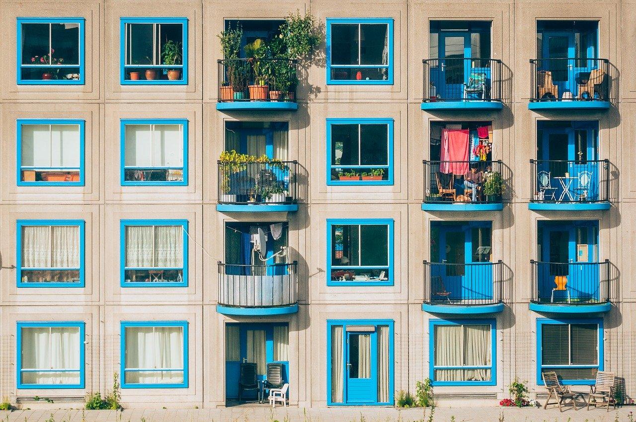 Wohnung Balkon Bepflanzung Sitzmöglichkeit