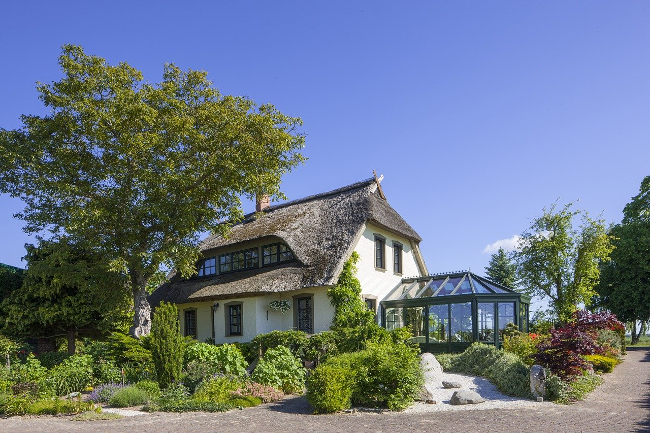 Haus Wintergarten Garten Kaltwintergarten