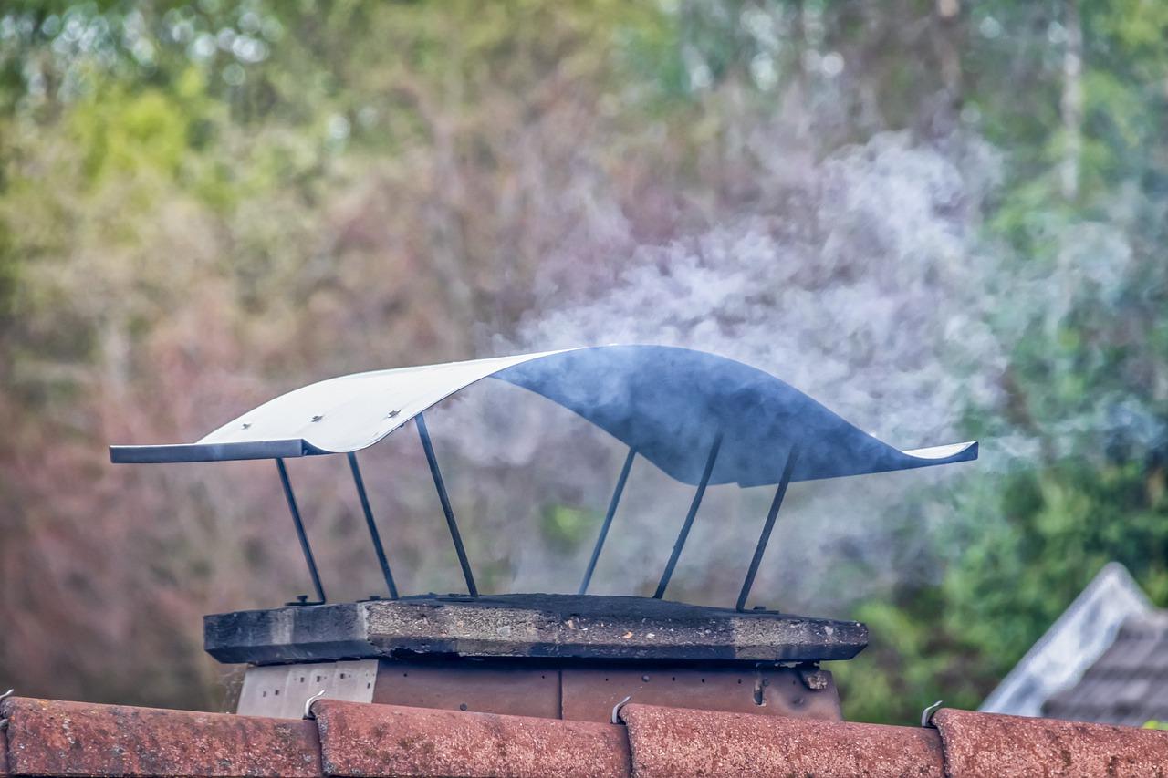 Schornstein Qualm Rauch Abzug