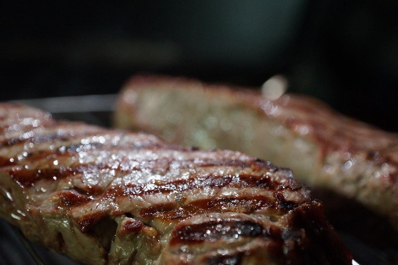 Steak Rindfleisch Asado Grillen Grillkamin Gartengrill