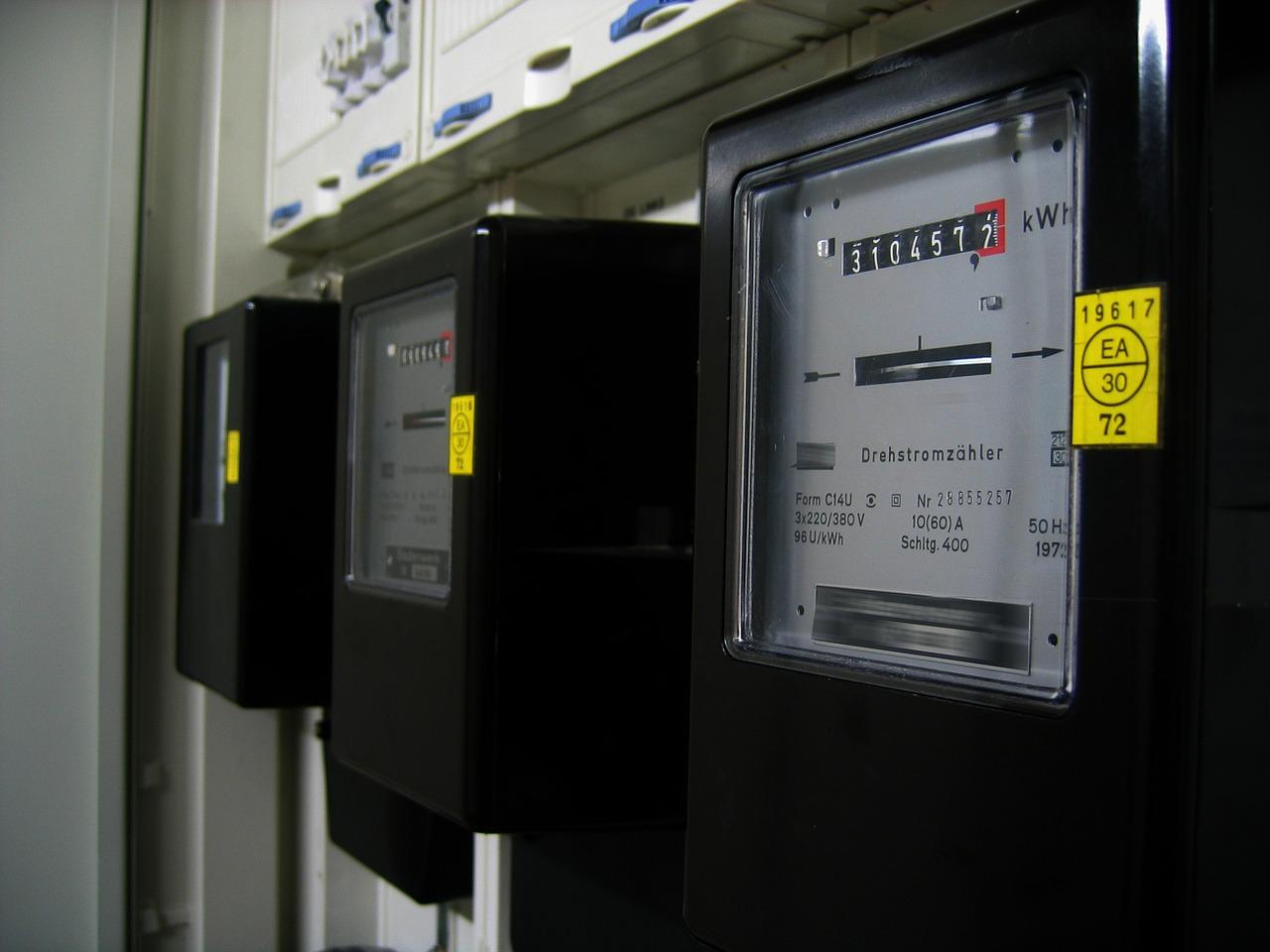Strom Stromzähler Verbrauch Stromkasten