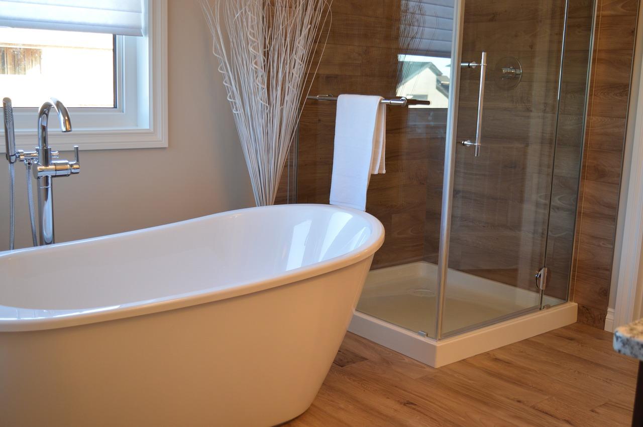 Bad Badezimmer Badewanne Dusche