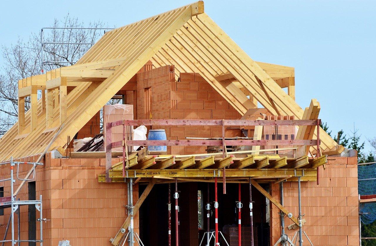 Bauen Haus Baustelle Handwerker