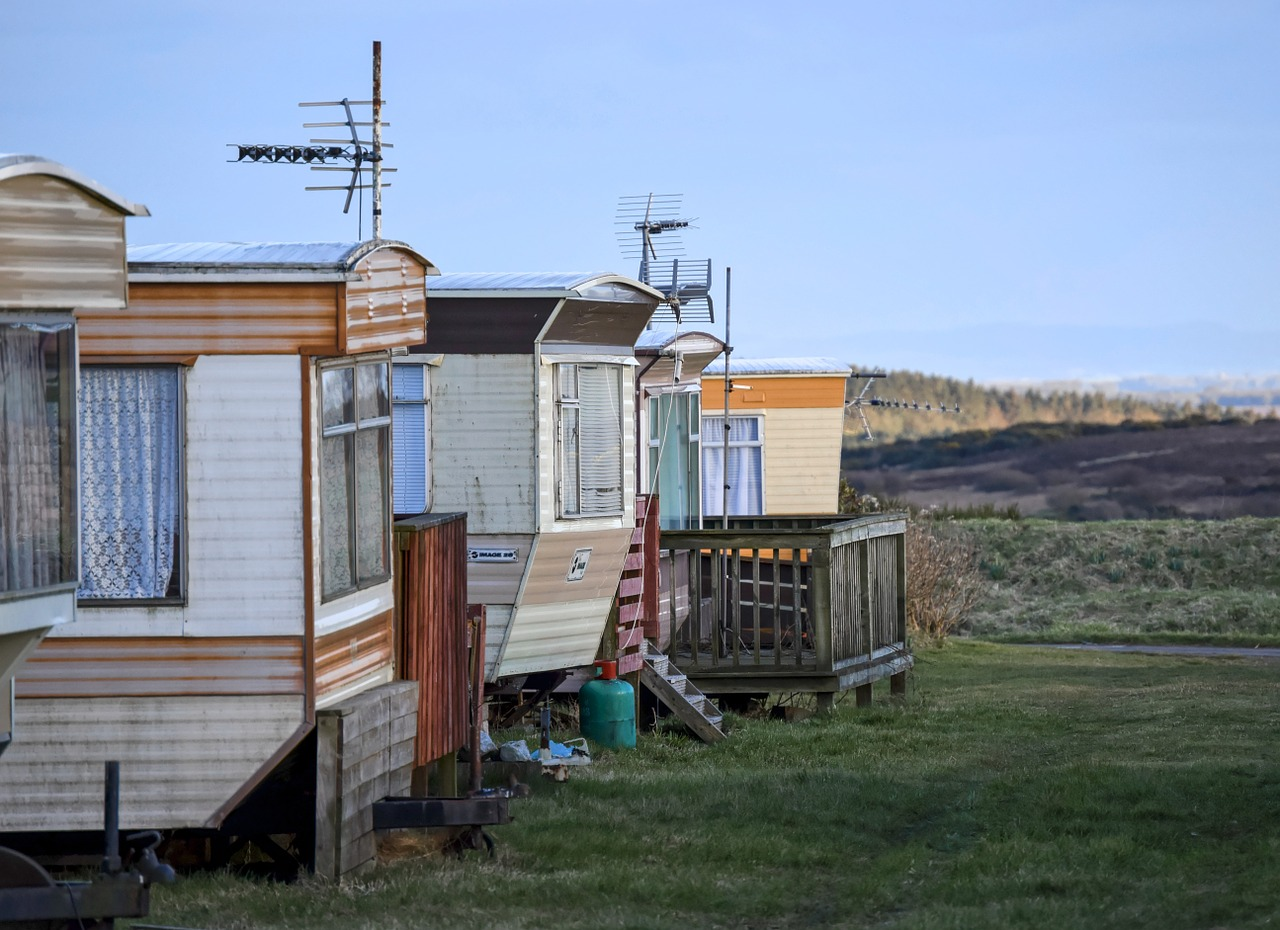 Caravan Mobilhome Camping Campingplatz