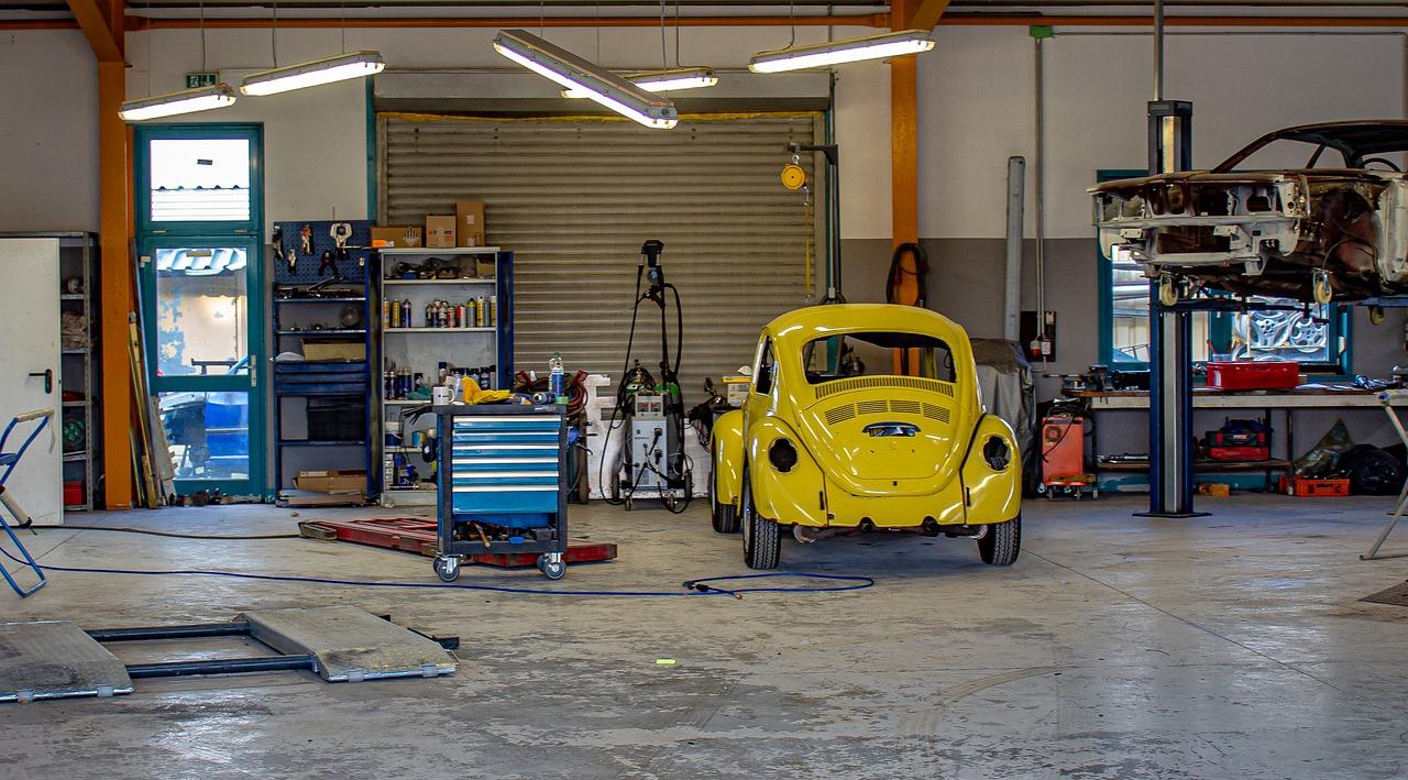 Garage Werkstatt VW Auto KFZ Werkstatt