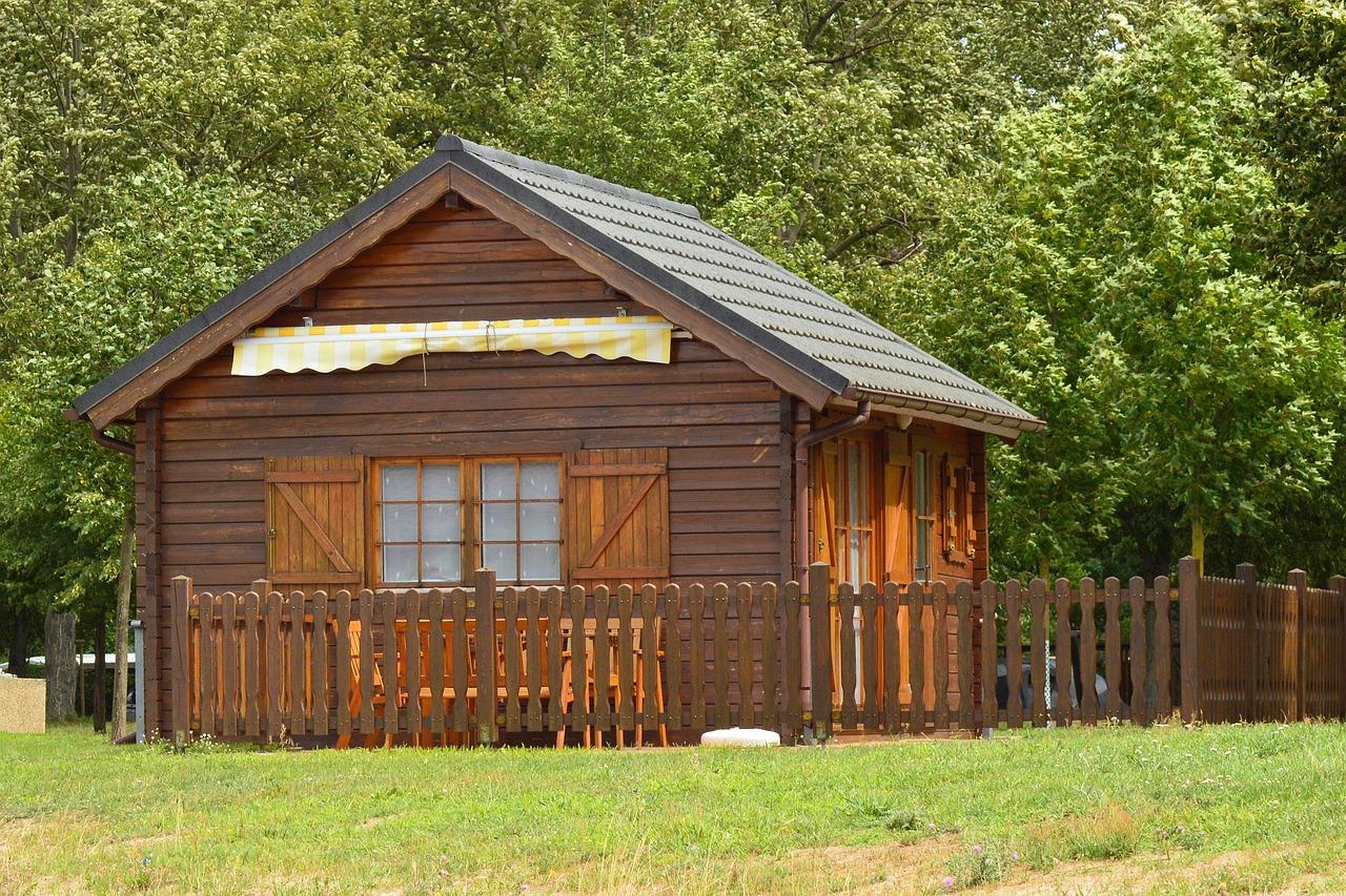 Gartenhaus Holzhütte Laube Wochenendhaus Garten