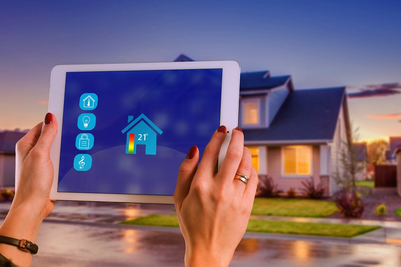 Smart Home WLAN Steuerung Haus Eigenheim