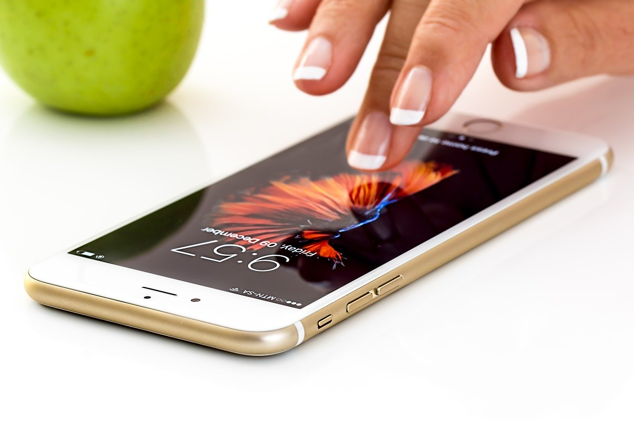 Smartphone Handy App Steuerung