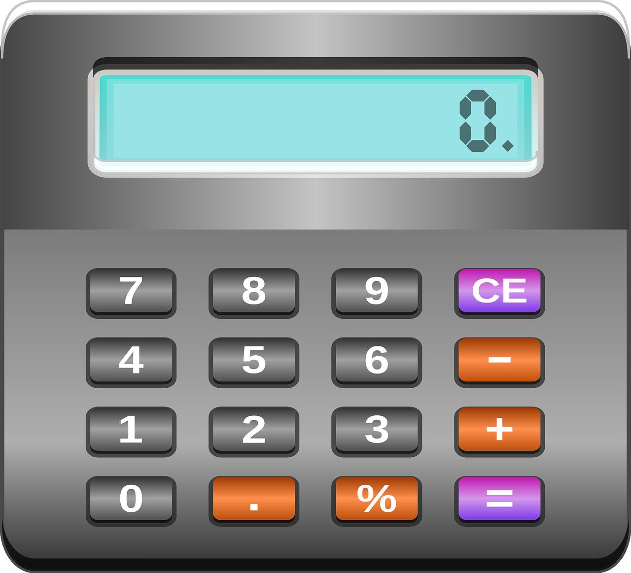 Taschenrechner Kalkulieren Rechne