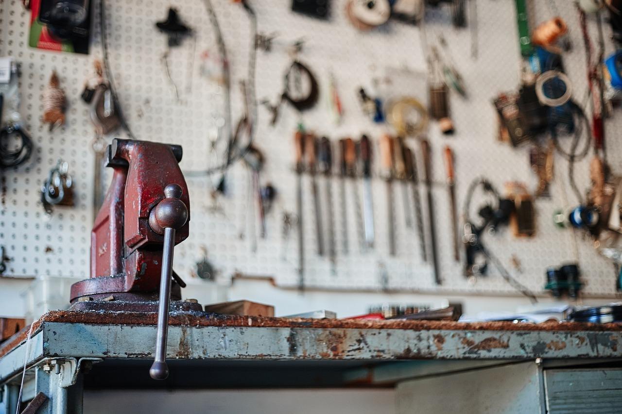 Werkstatt Keller Werkzeug Hobbyraum