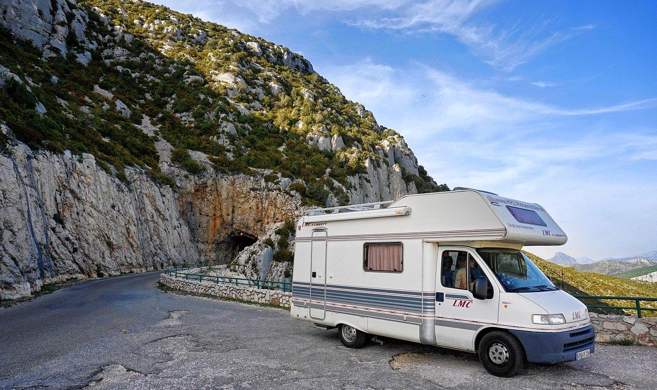Wohnwagen Wohnmobil Urlaub Camping Camper