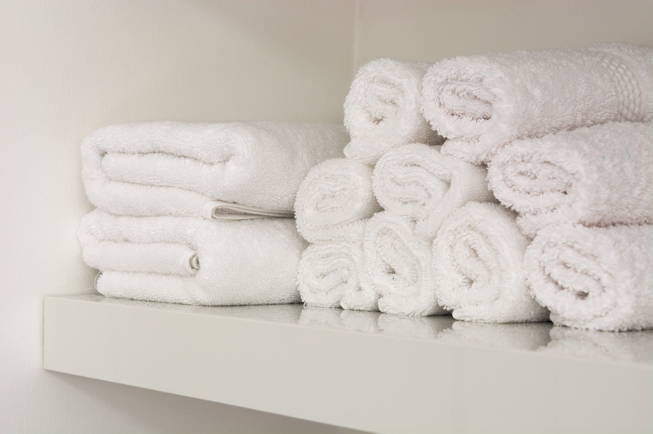 Ablagefach Regal Handtücher Brett