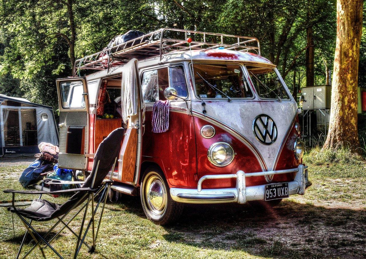 Camper Camping VW Bulli
