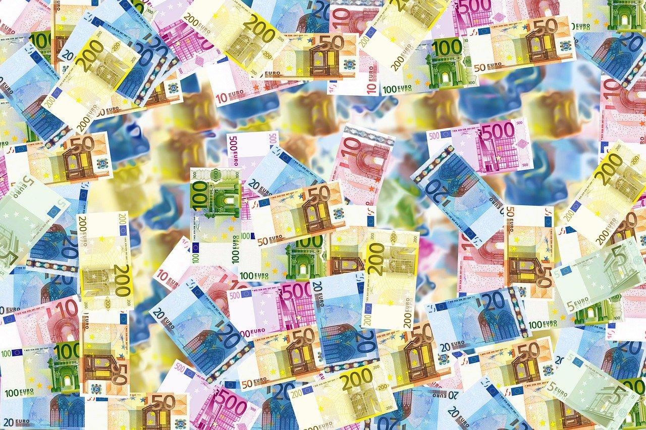 Geld Euro Sparen Geldscheine Zuschuss