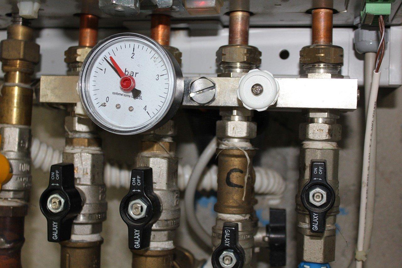 Heizung Heizungsanlage Druck Rohre Boiler