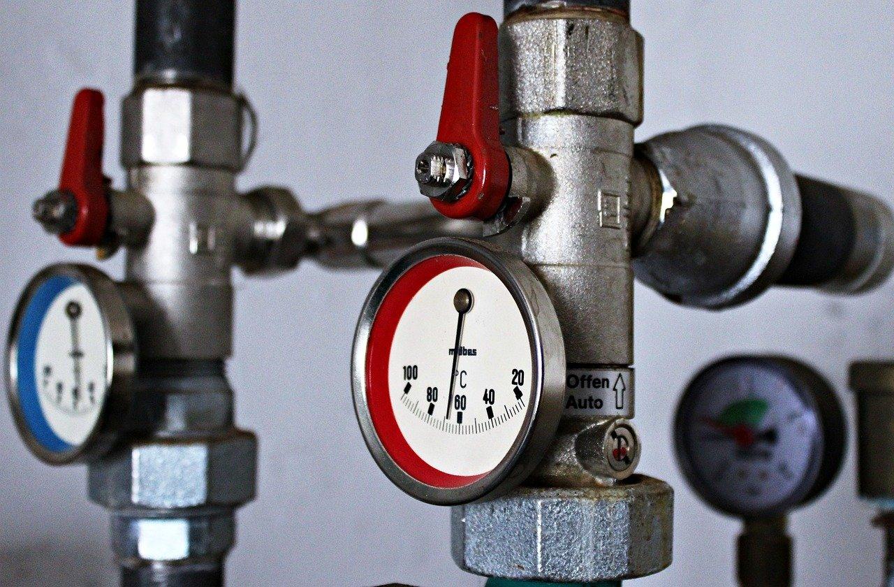 Heizung Heizungsanlage Temperatur Temperaturanzeige