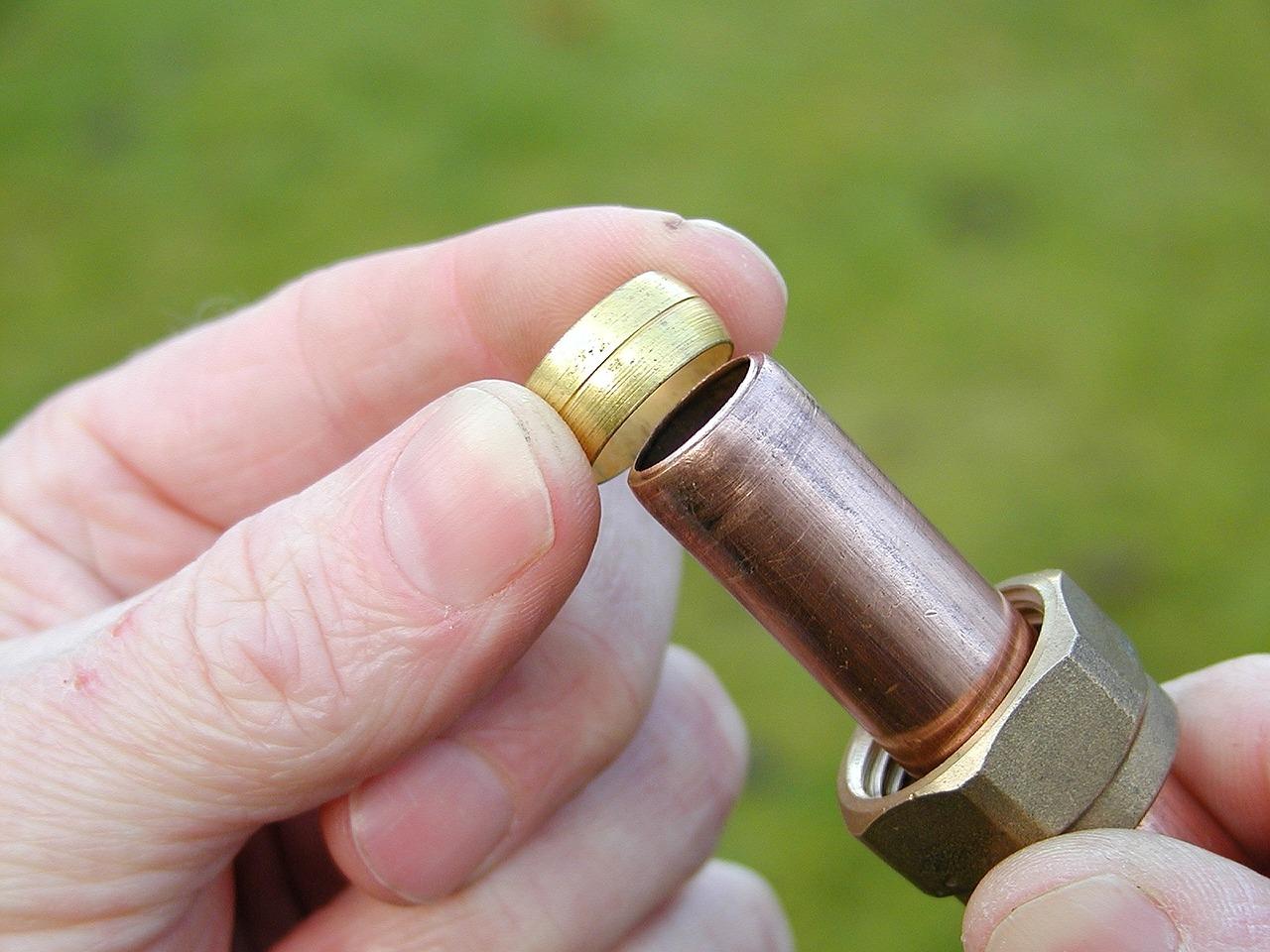 Heizung Rohr Ventil Einzelteil Ersatzteil Hand Handwerker