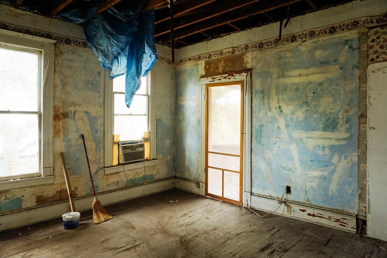 Renovieren Wohnung Haus Fenster Wände Boden Heizung