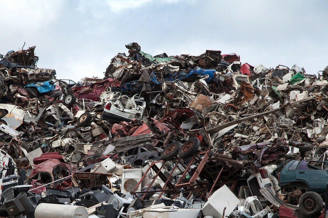 Schrottplatz Müll Entsorgung Recycling