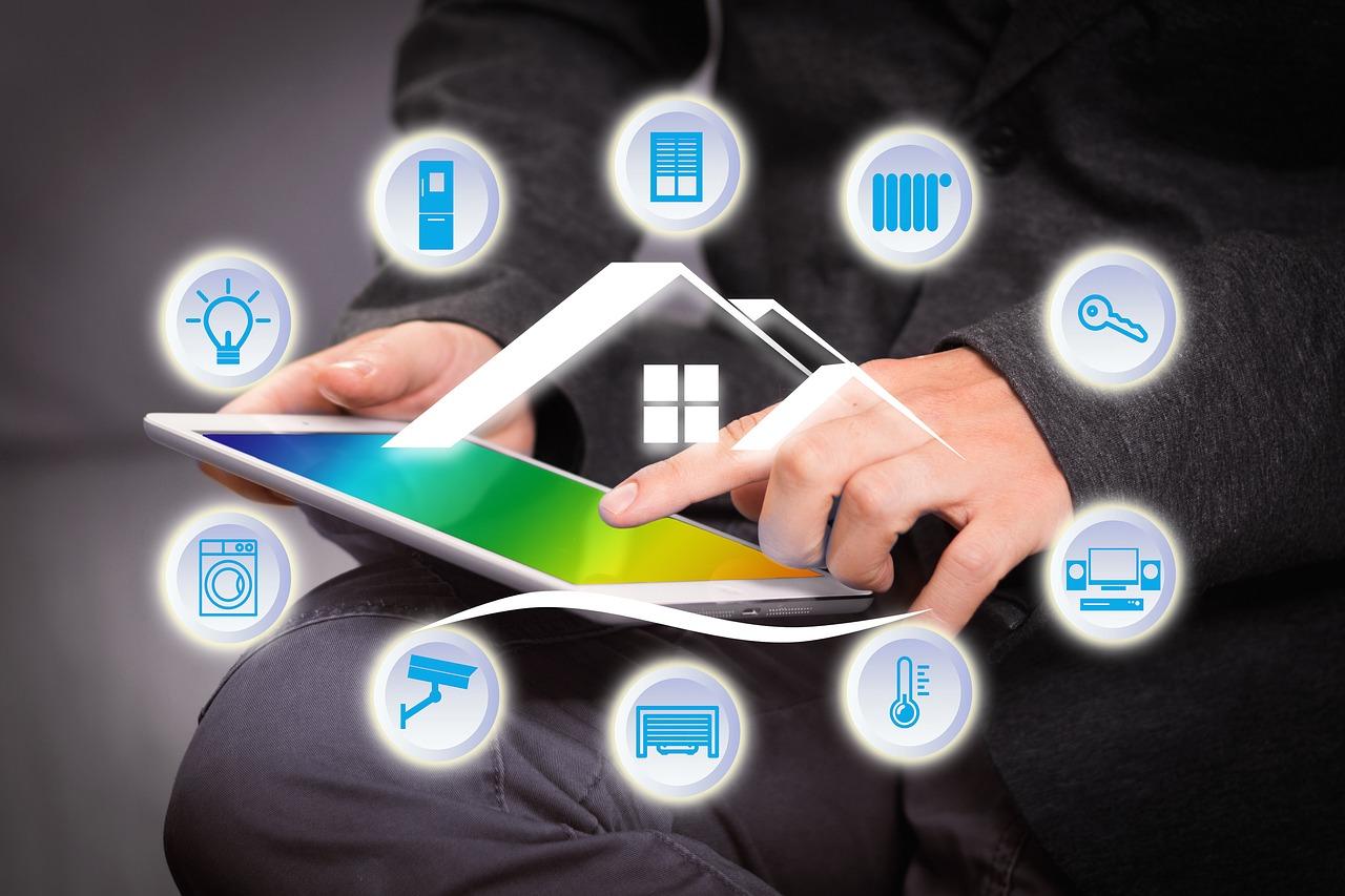 Smart Home Tablett Steuerung Haus Wohnung Funk