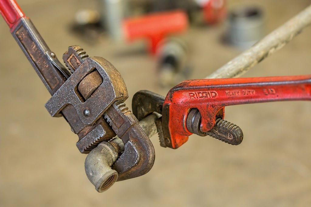 Werkzeug Zange Rohrzange Sanitär Heizung Installateur