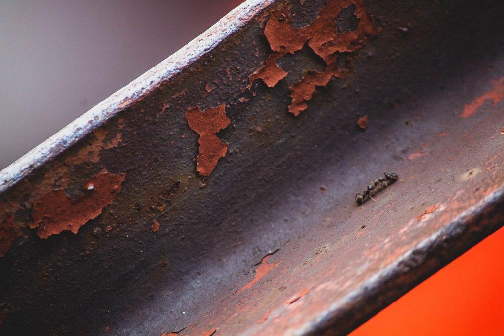 Rostiger Stahl