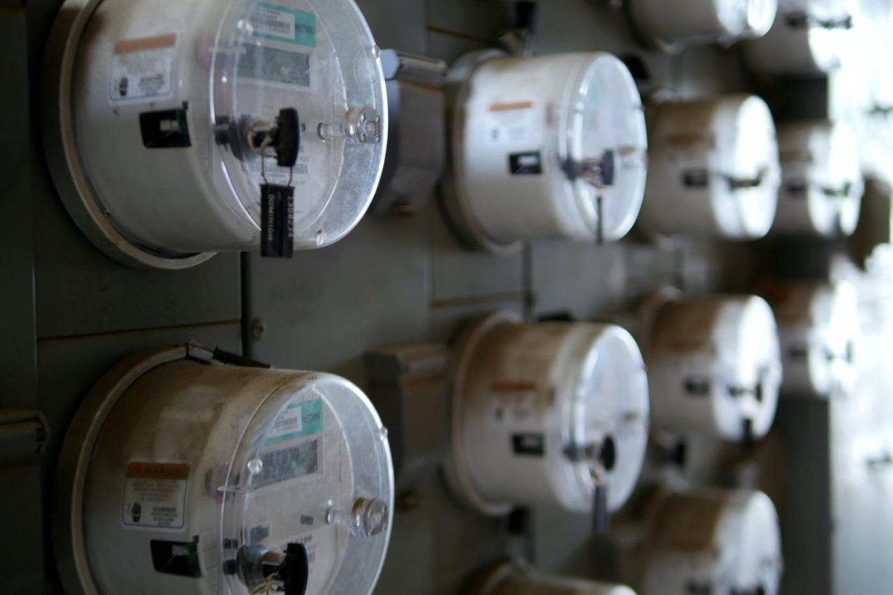 Stromzähler Verbrauch Haus Wohnung