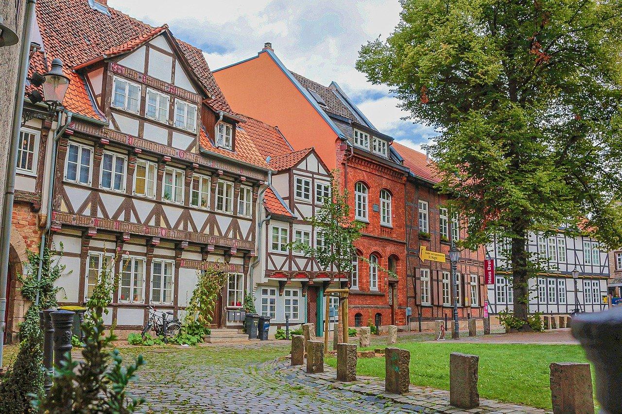 Altstadt Altbauten Fachwerk