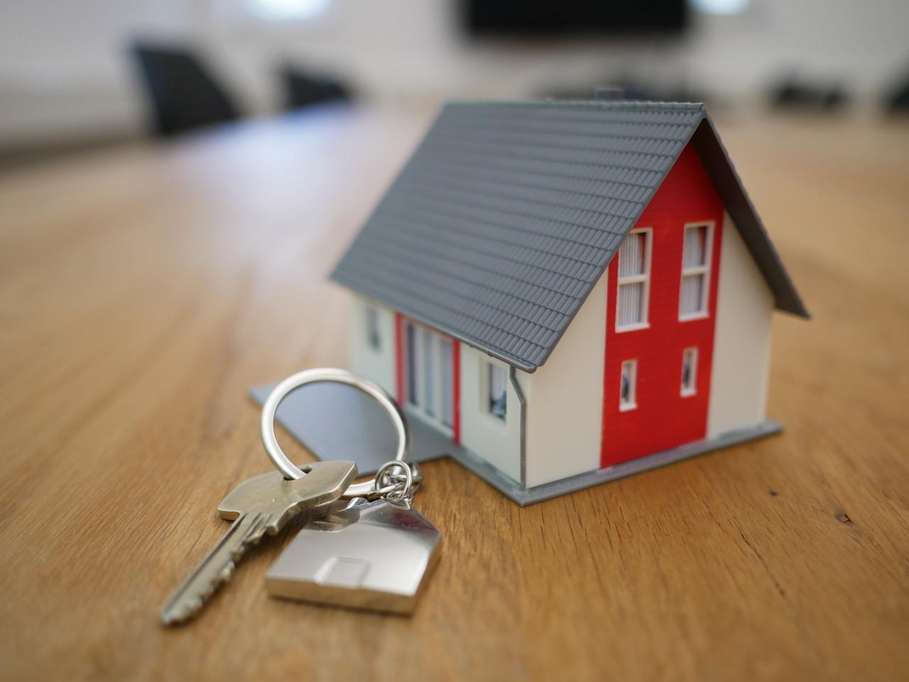 Haus bauen Planung Schlüssel