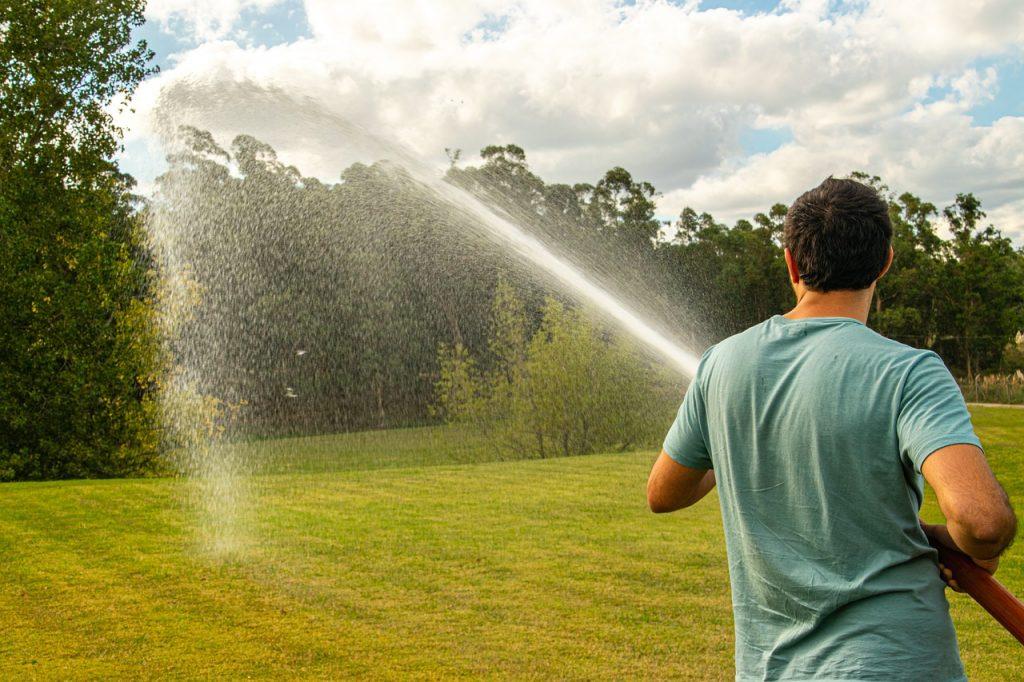 Wasser Schlauch Nass