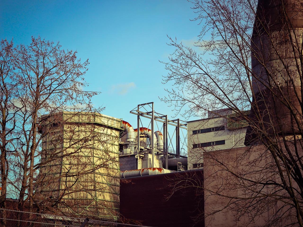 Heizkraftwerk Kühlturm