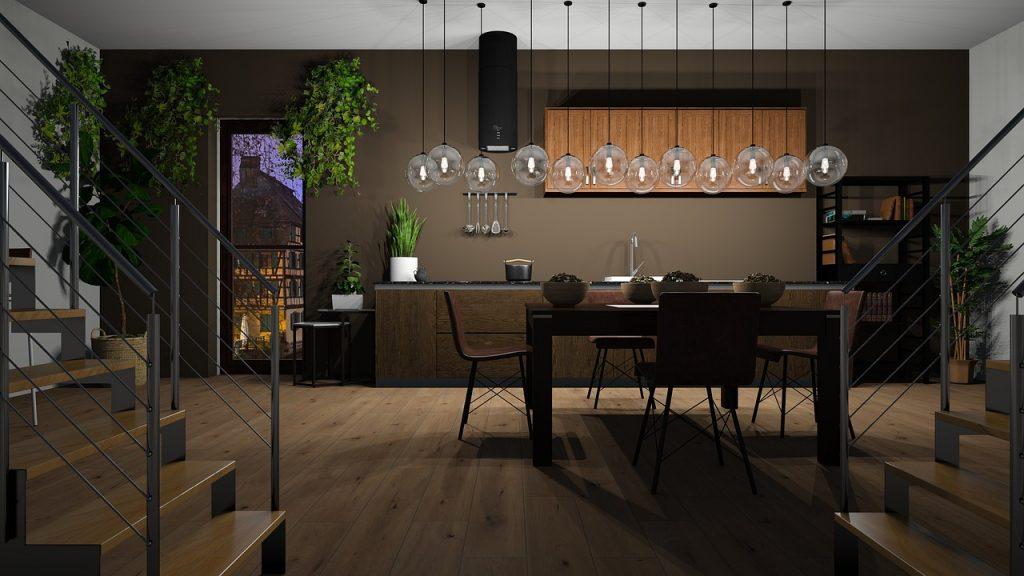 Küche Wohnung Boden