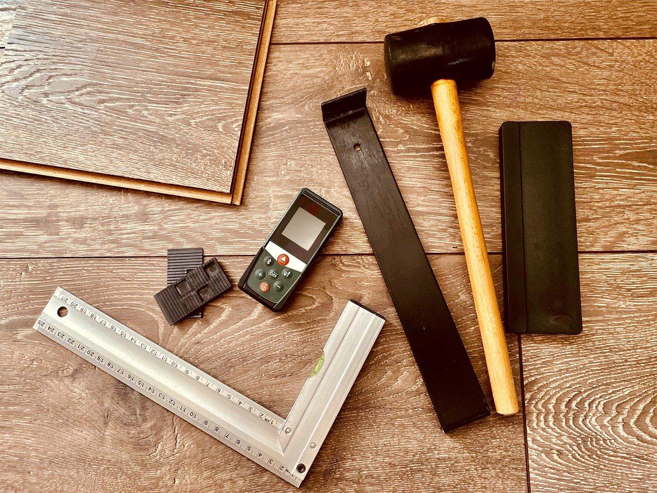 Laminat Fußboden Werkzeug