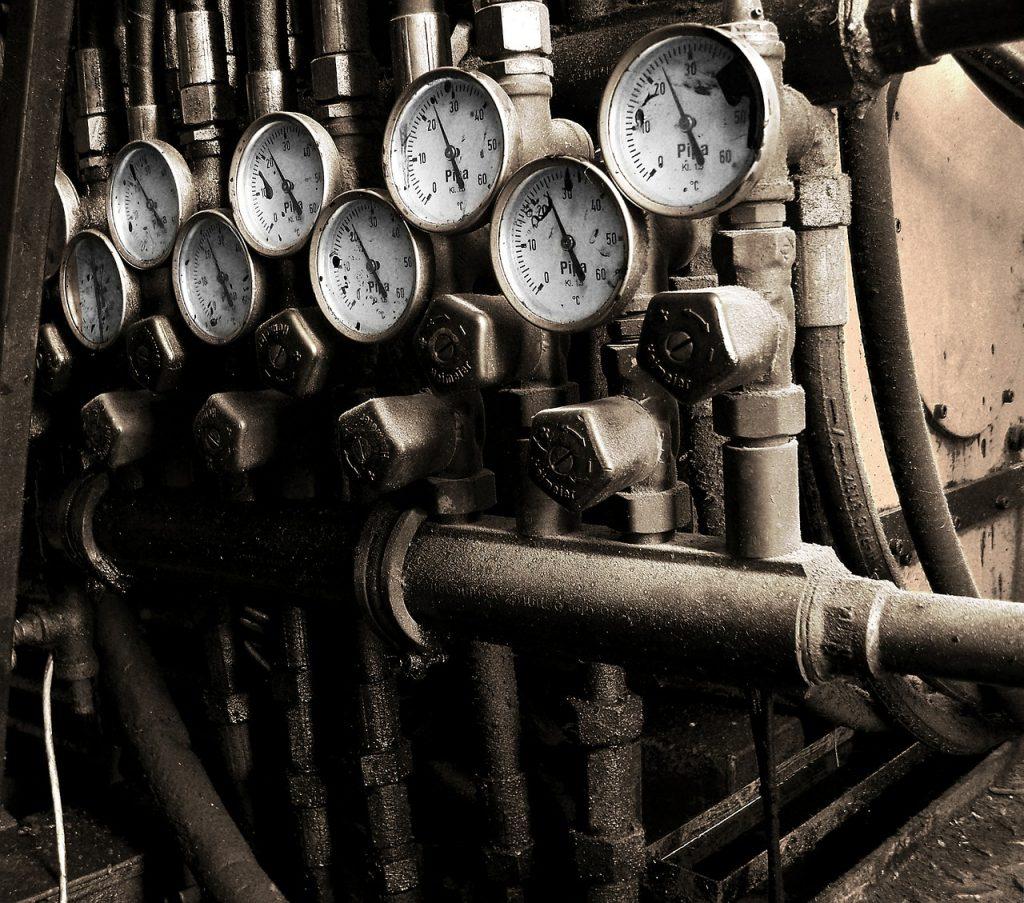 Armatur Heizung Druck Ventil Rohr