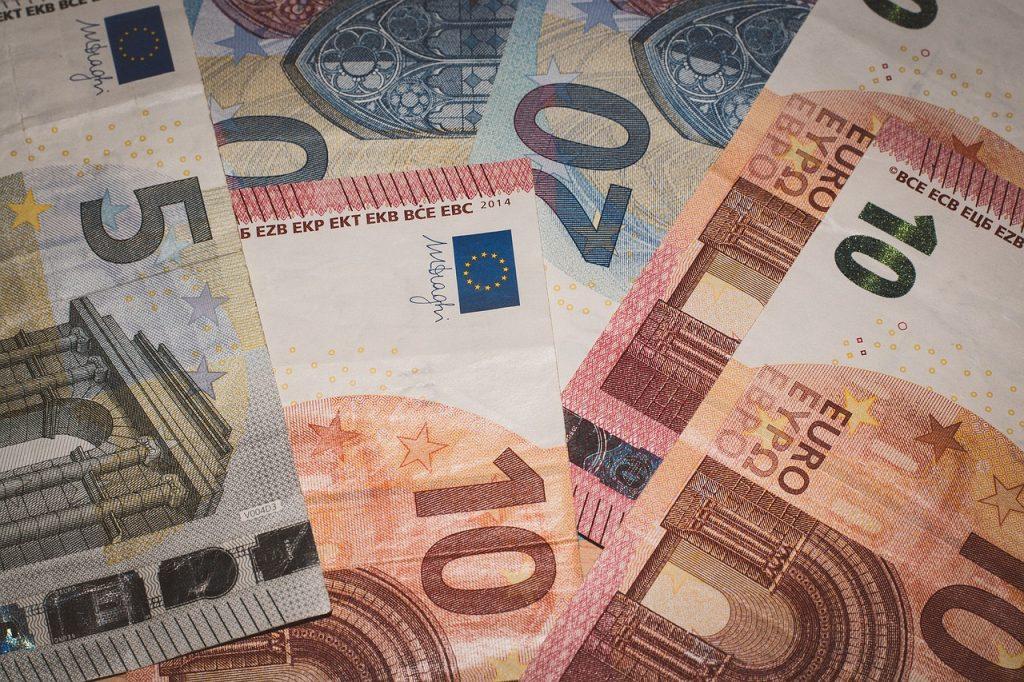 Banknoten Euro Scheine