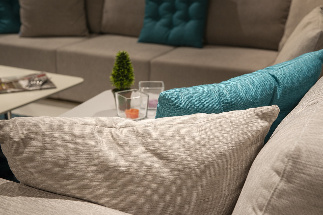 Couch Kissen Wohnzimmer