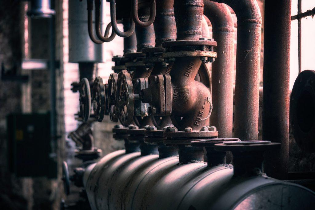 Heizung Verteiler Rohre Ventil