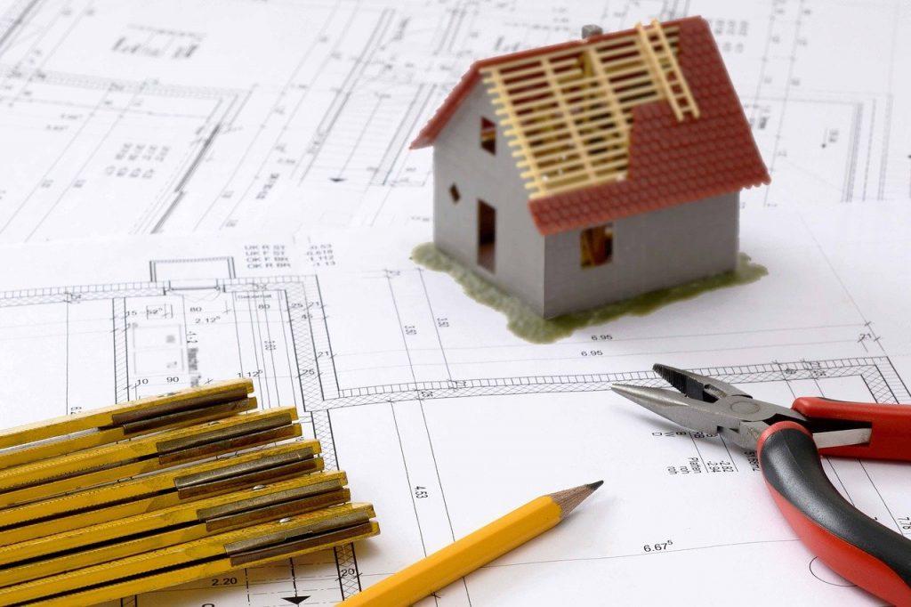 Planung Aufbau Haus