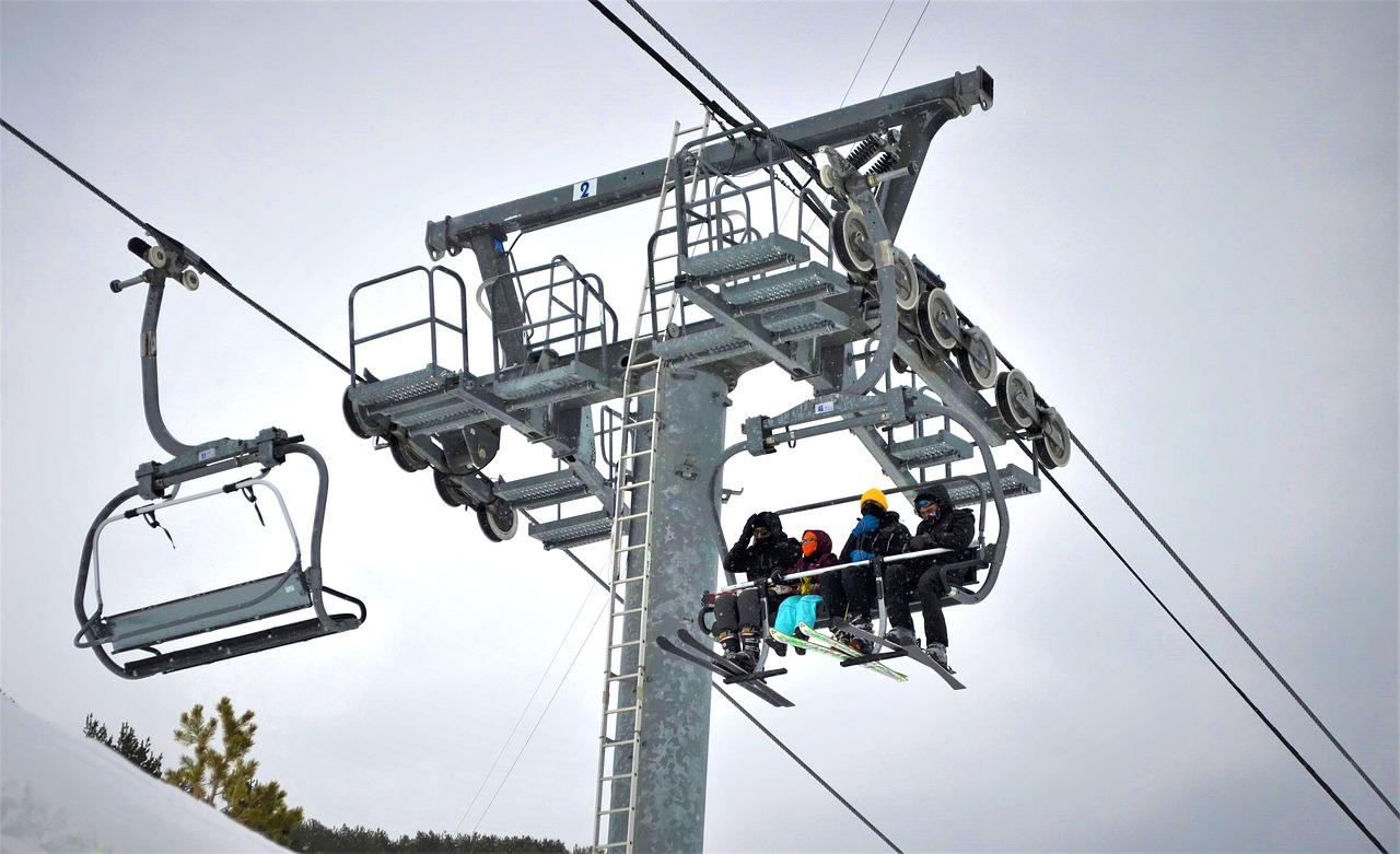Skilift Winter Sessellift