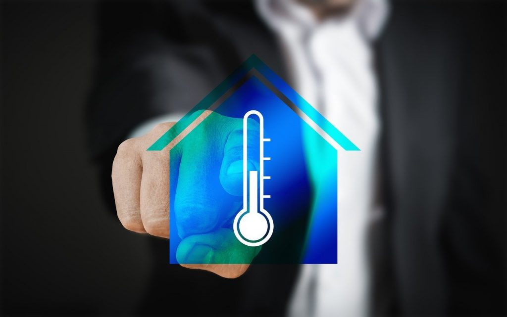 Temperatur regeln Haus Heizung