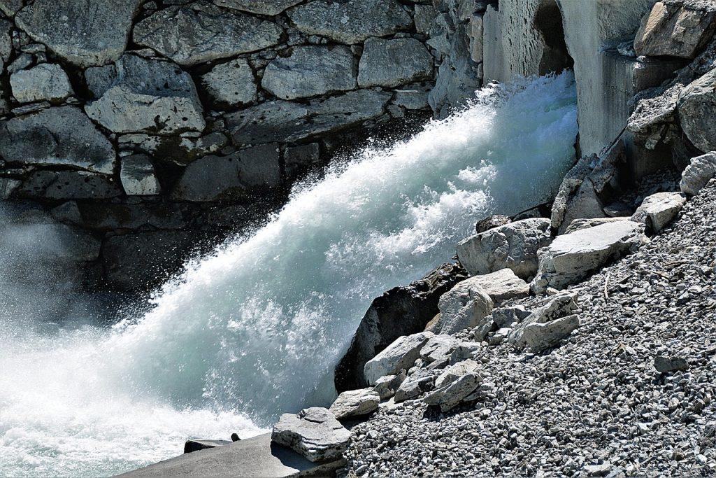 Wasser Durchfluss