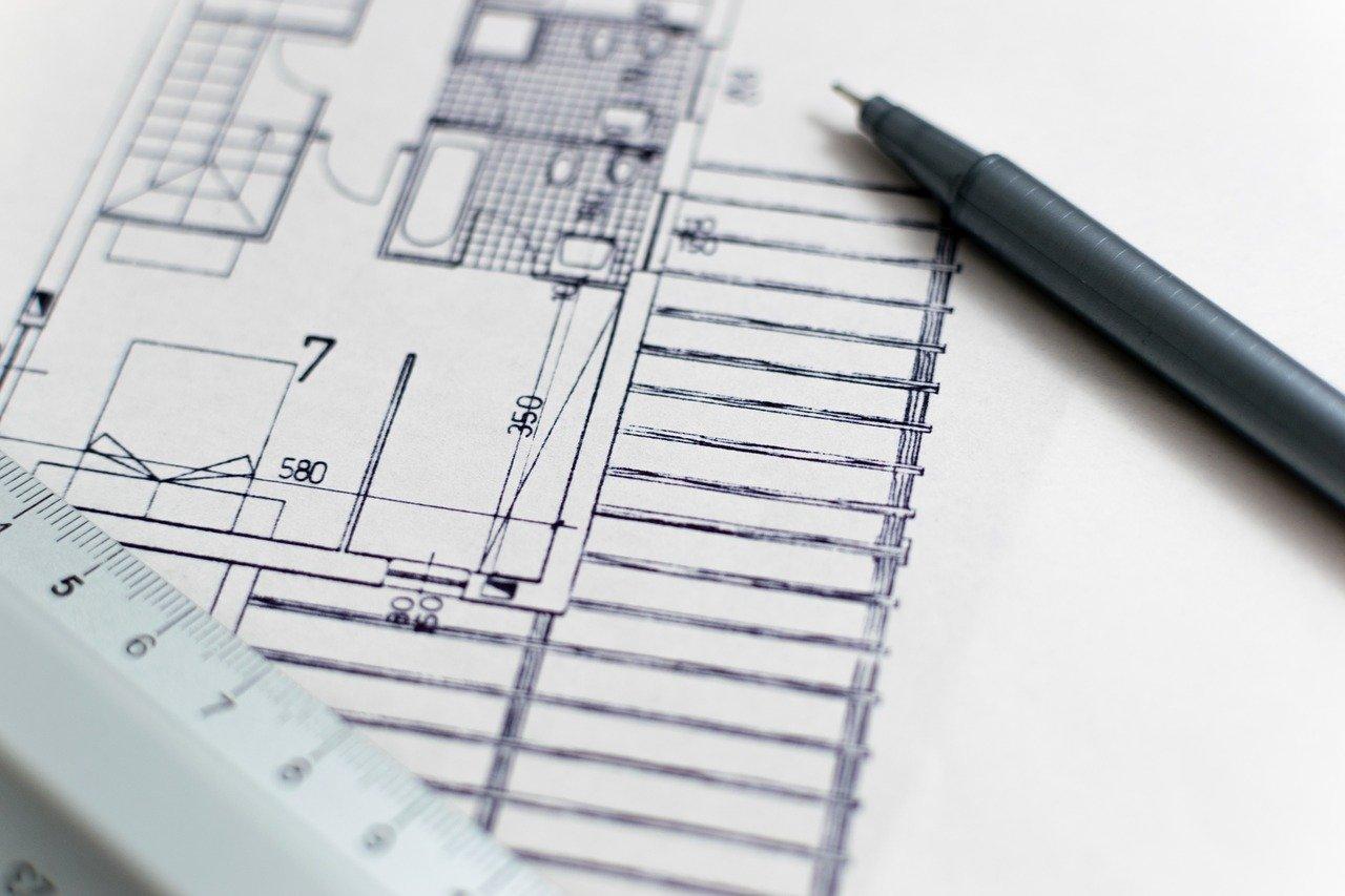 Grundriss Wohnung Architektur