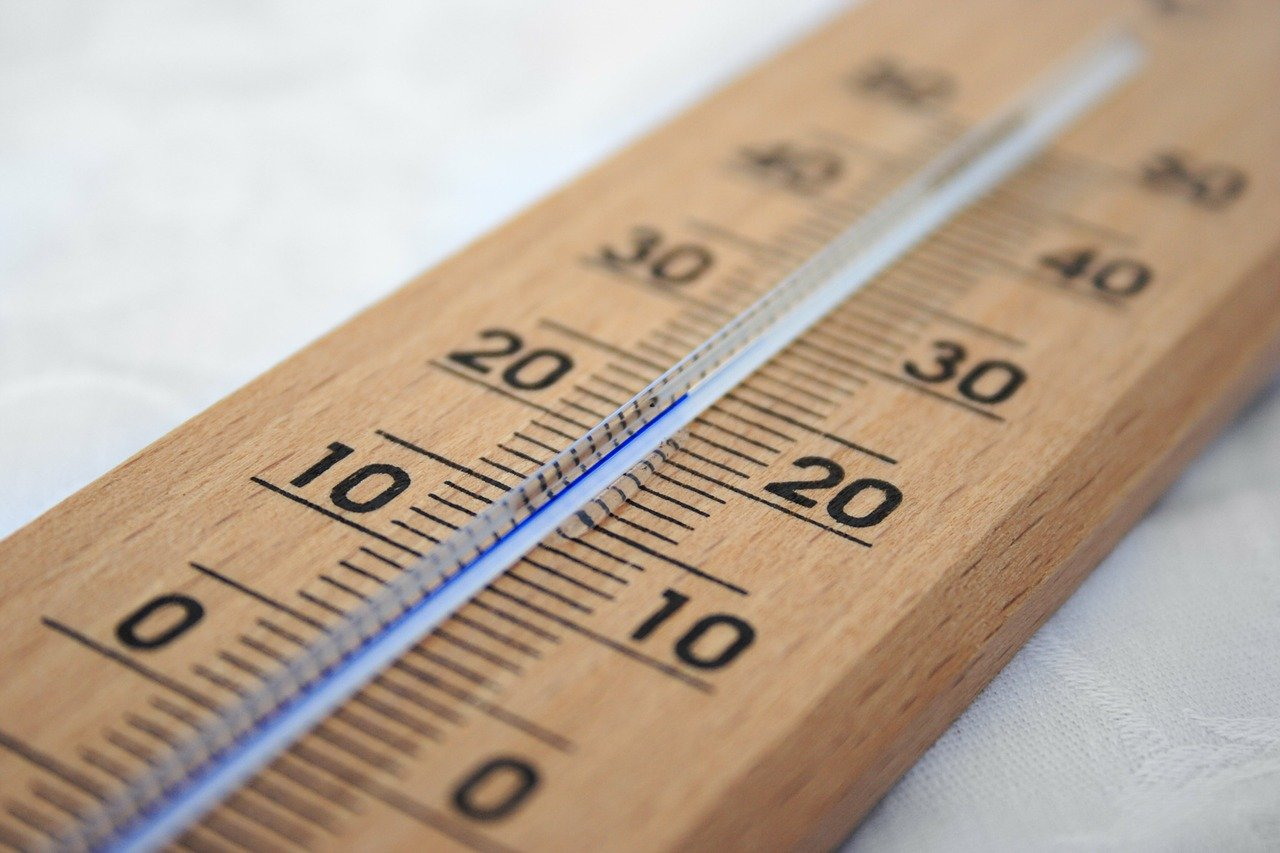 Thermometer Holz Temperatur