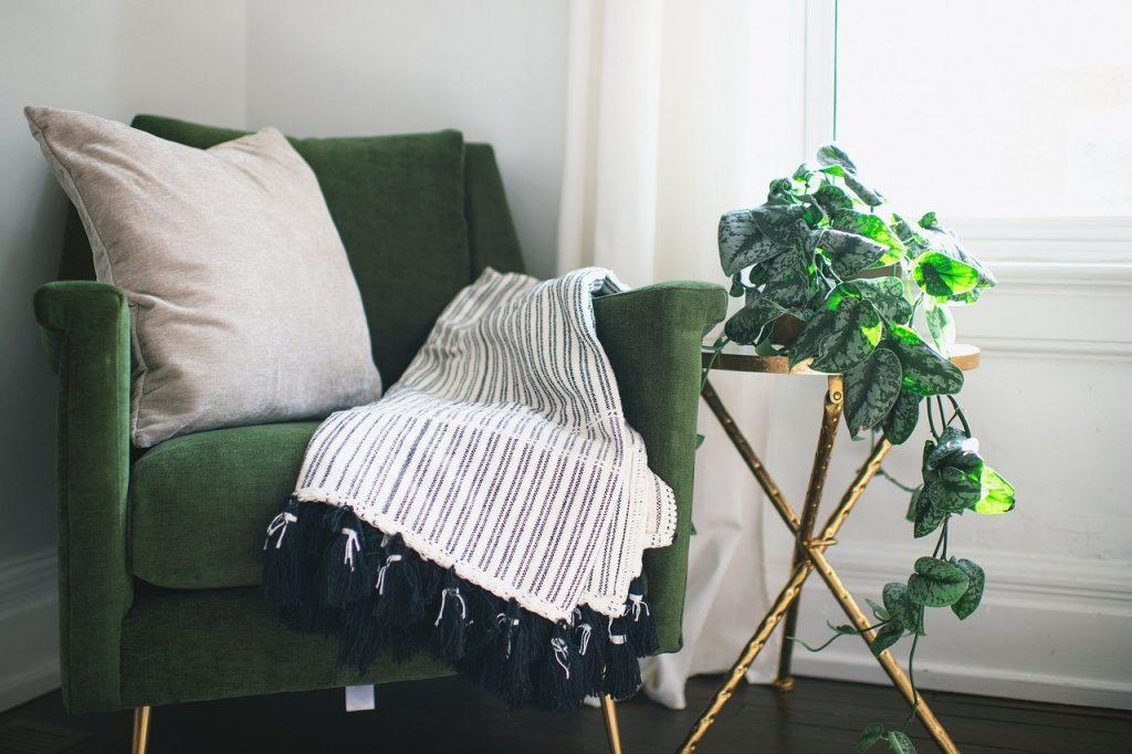 Decke Warm Sessel