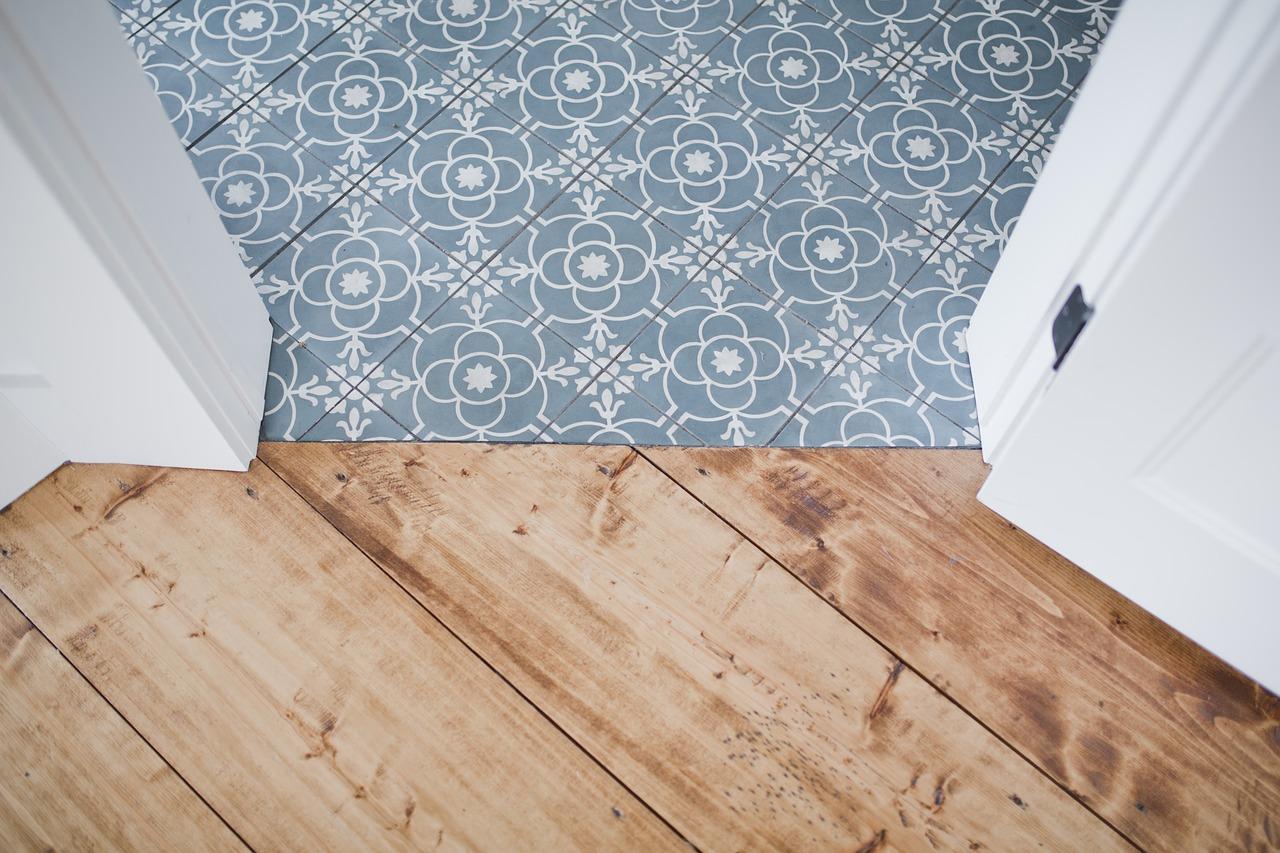 Fußboden Übergang Holz Mosaik